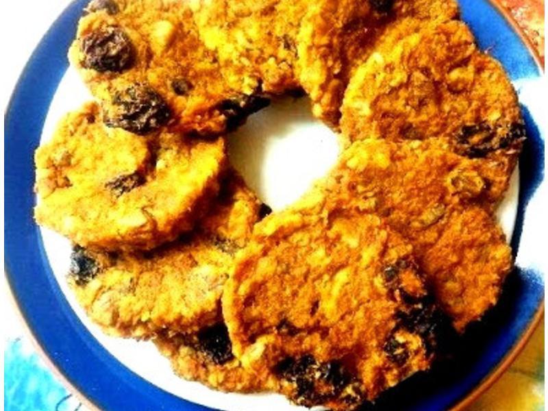 無油無糖健康南瓜燕麥餅乾
