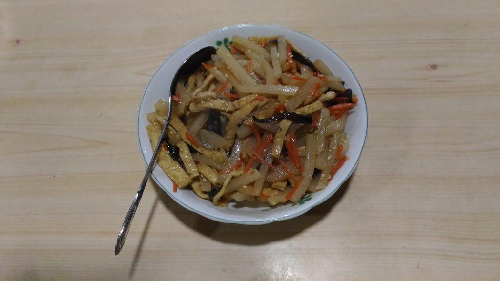 豆薯料理第三彈~豆薯油揚