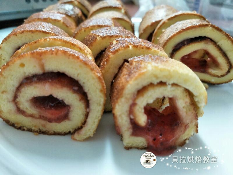貝拉蛋糕捲(平底鍋蛋糕捲)