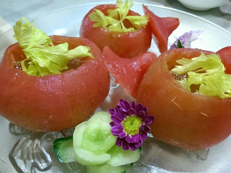 番茄魚汁凍
