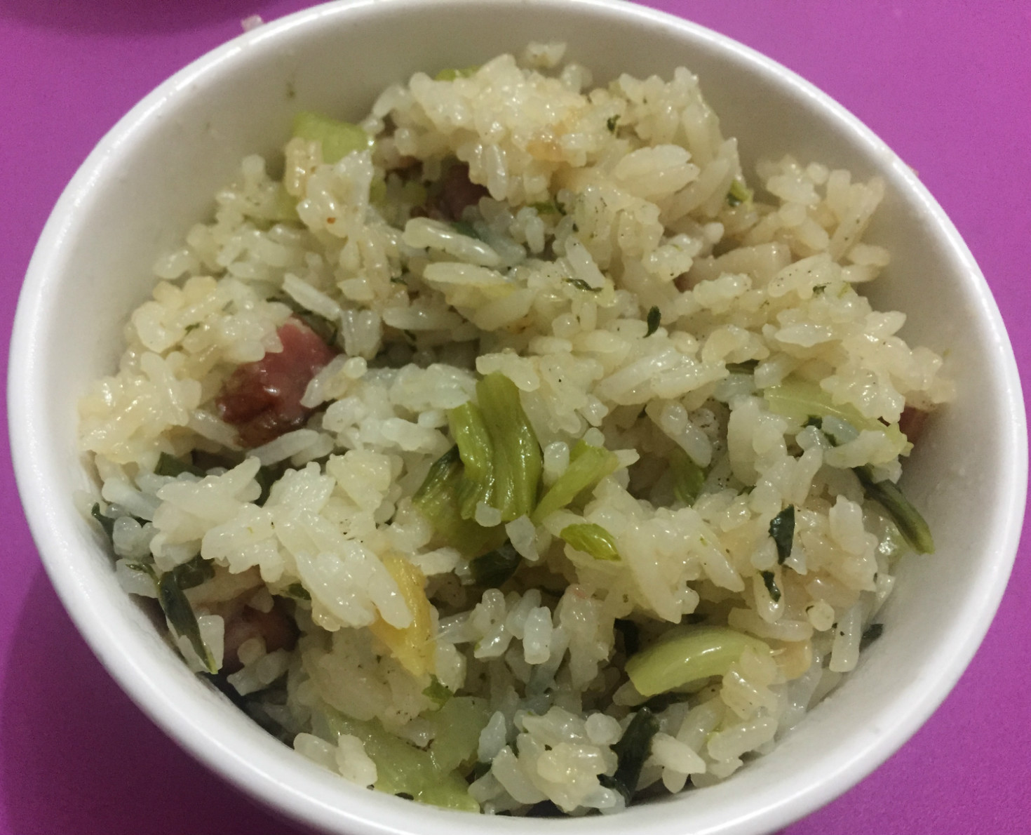 ♥ 上海菜飯(臘肉)