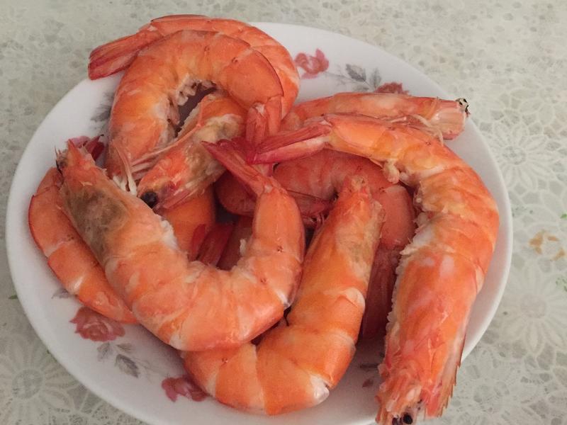 川燙海大蝦
