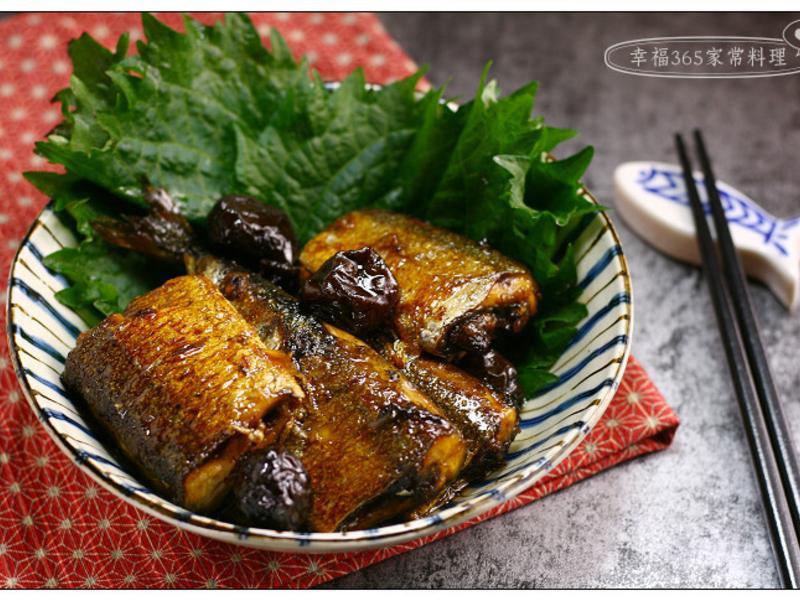紫蘇梅秋刀魚