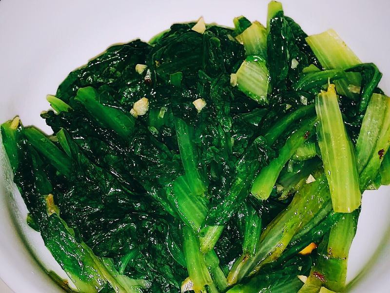 🍃🌿蒜炒青菜