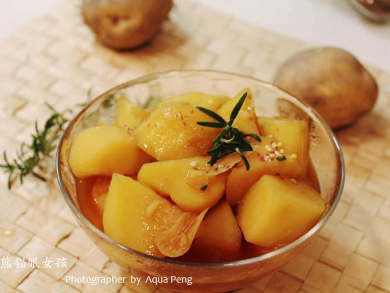 【簡單做菜】開胃小菜。燉馬鈴薯