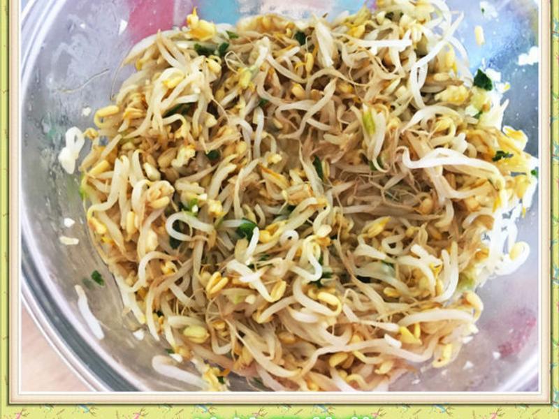 簡易涼拌豆芽菜