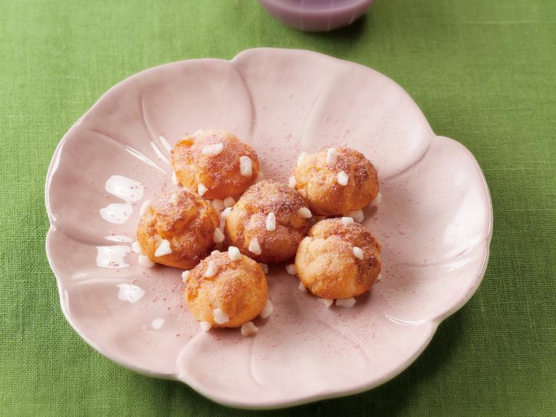東販小食堂:櫻花米粉法式小泡芙