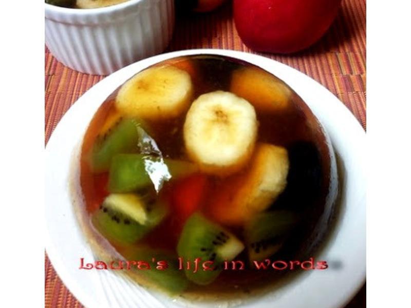 繽紛水果凍 Fruit Terrine