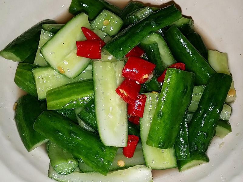 🥒🌶涼拌小黃瓜