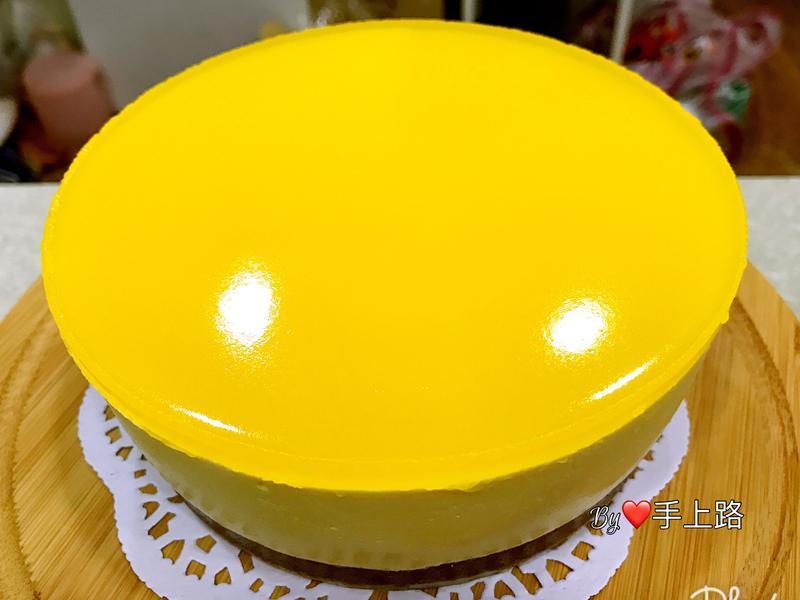 芒果流心百香果乳酪蛋糕(6吋、免烤箱)