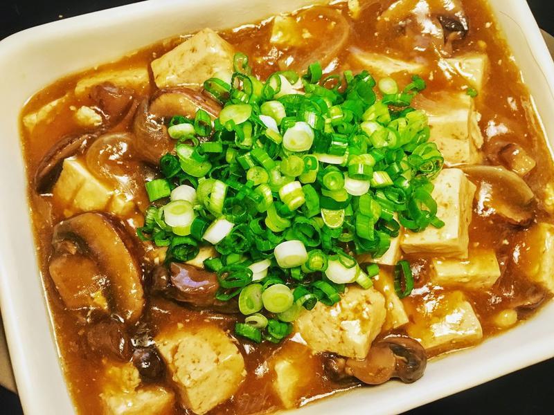 10分鐘下飯菜!沙茶蘑菇燒豆腐