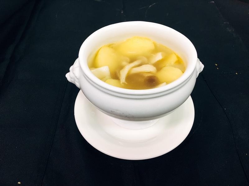 蘋果胡瓜清湯