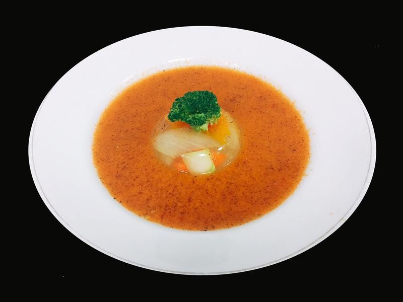 黑木耳番茄冷湯