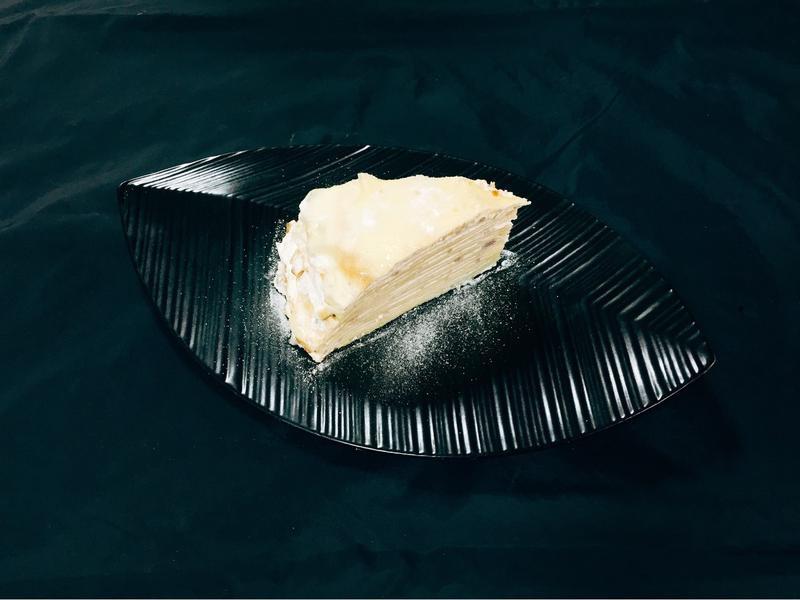 芋泥卡士達千層蛋糕