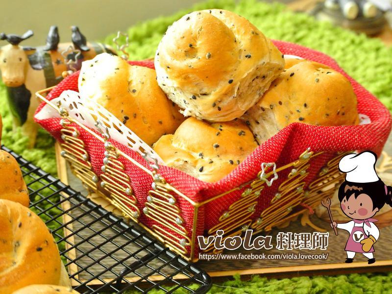 芝麻奶香手撕麵包