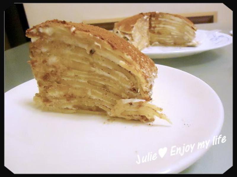香蕉優格千層蛋糕