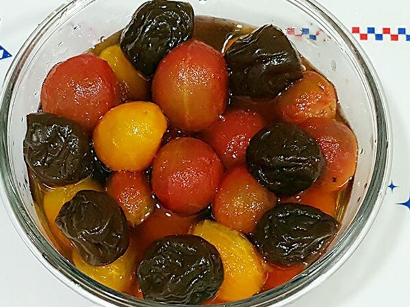 紫蘇梅汁漬番茄