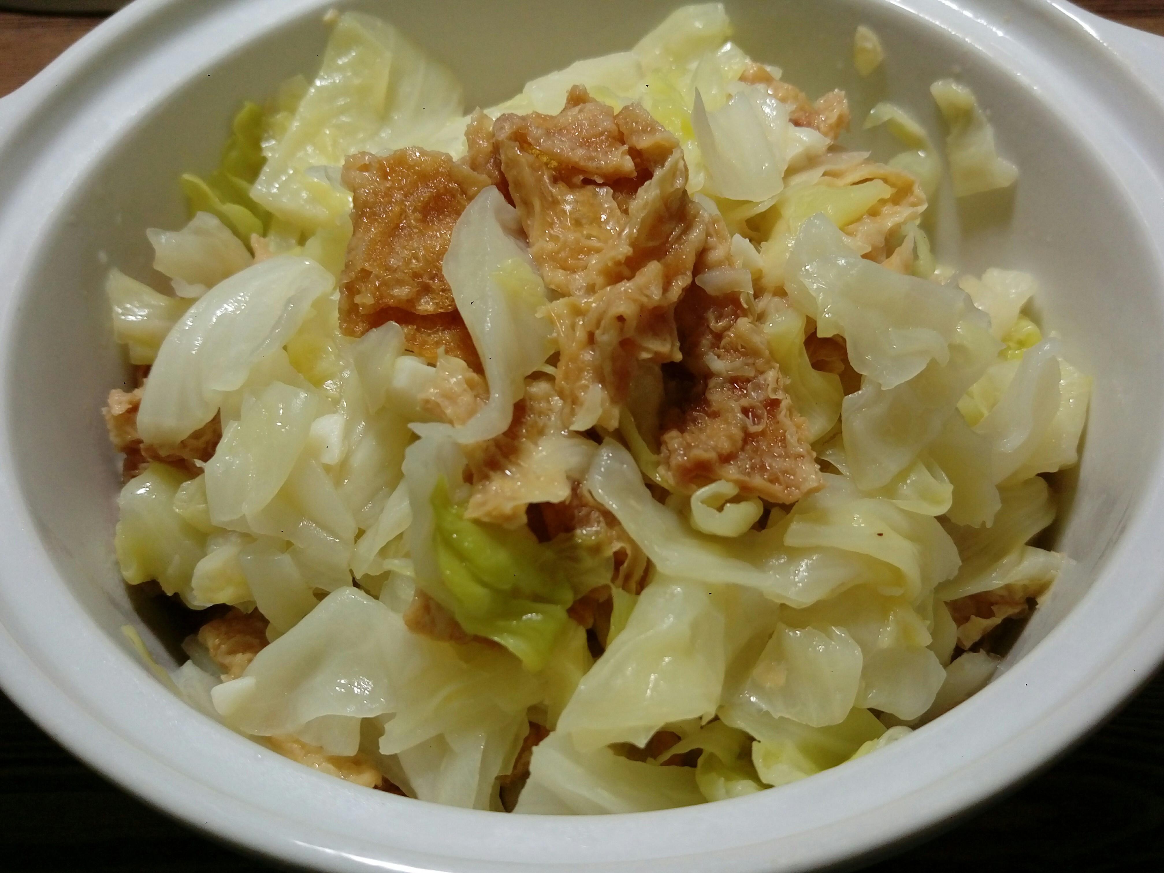 輕鬆炒青菜~高麗菜炒豆皮