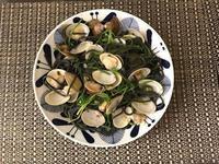 墨魚白酒蛤蜊義大利麵