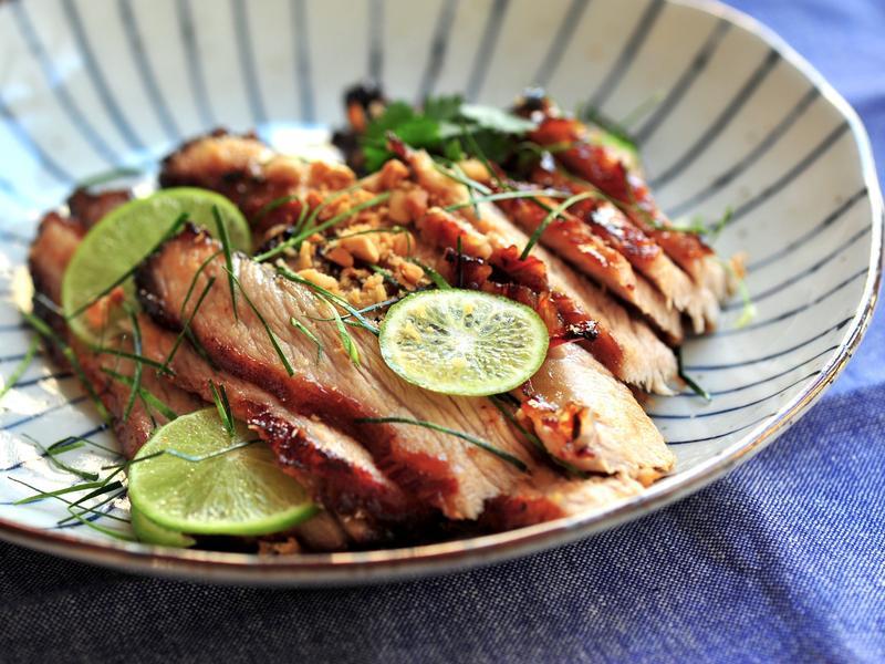 泰式焗豬頸肉