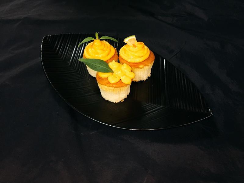 胡蘿蔔杯子蛋糕