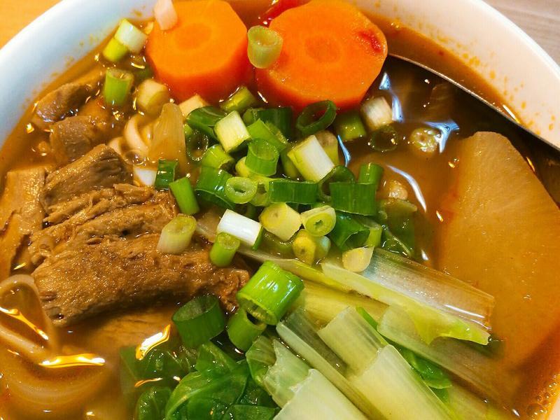 蔬食蕃茄牛肉湯麵(無肉版)