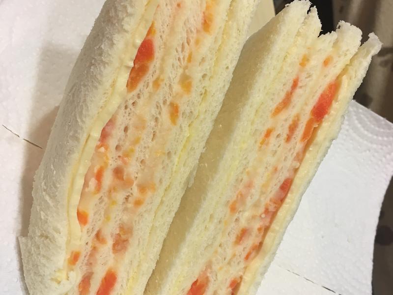 洋芋沙拉三明治