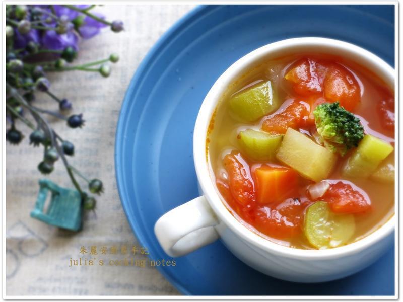 [蘋果番茄蔬菜湯]懶人料理 夏季湯品