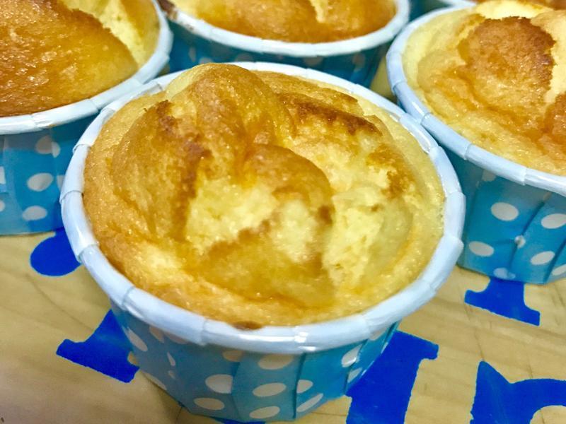 寶寶版柚香杯子蛋糕