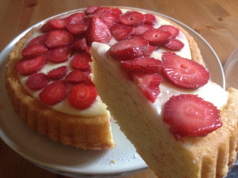蛋糕22---草莓蛋糕塔