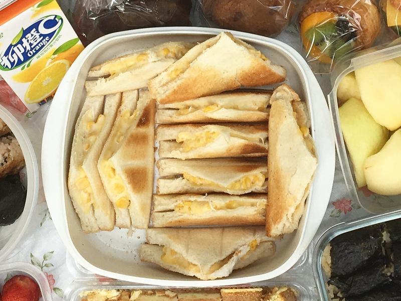 起司玉米三明治