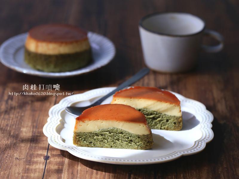 電鍋也可做出京都味抹茶布丁蛋糕