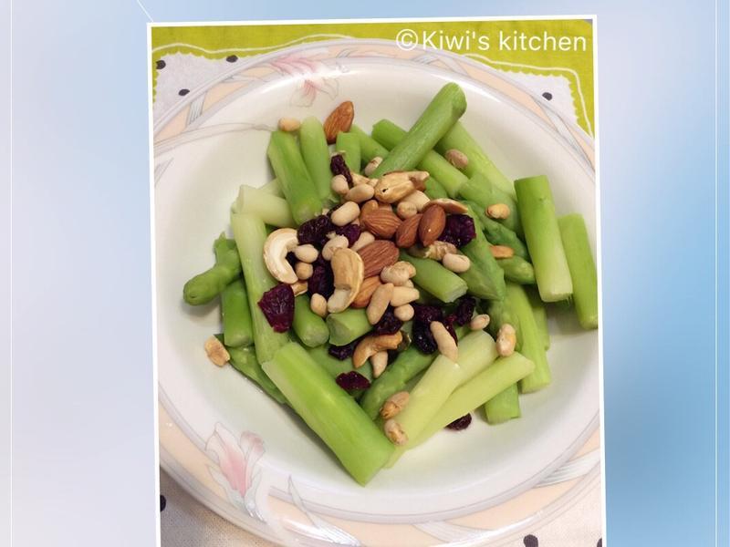 高纖蘆筍堅果