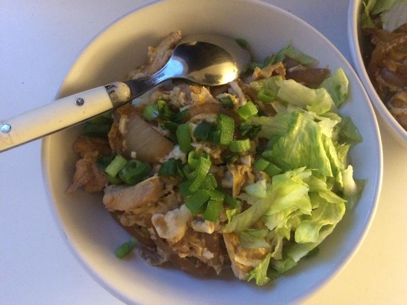 日式雞肉親子丼!超懶人食譜!