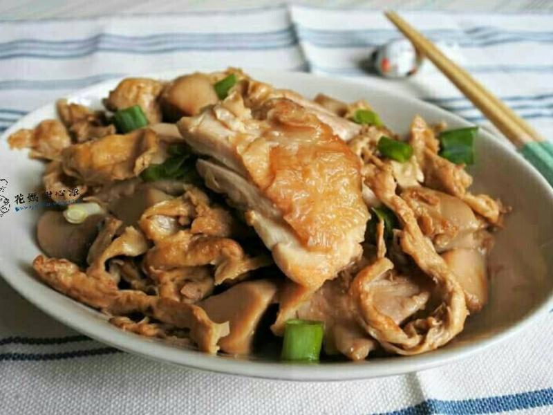 豆包燒嫩雞