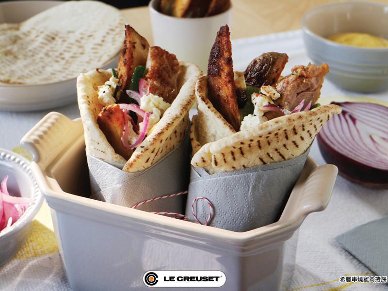 希臘烤雞肉捲餅