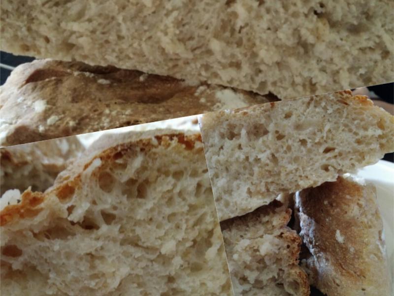 免揉麦片面包😍