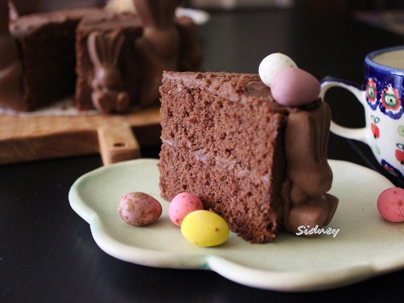 濃香巧克力磅蛋糕(全蛋打發法)