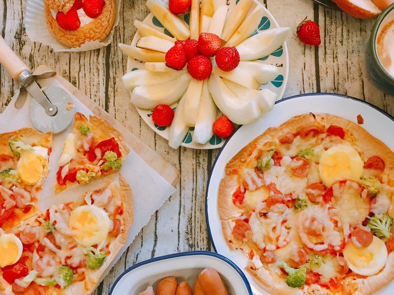 懶人料理-墨西哥薄餅變身好吃PIZZA