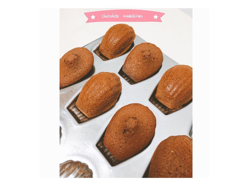 巧克力瑪德蓮🍫