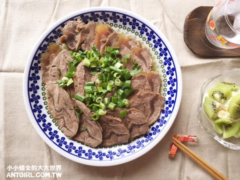 醬燒牛腱♥ 電鍋料理。日式清爽口味滷牛腱