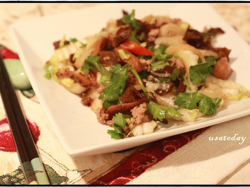 【東煮】低卡系列山東炒炒肉 Shaindong style chinese cabbage