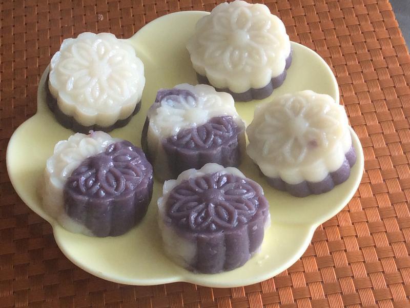 紫薯山藥糯米糕