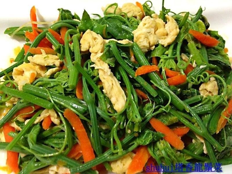 塔香龍鬚菜