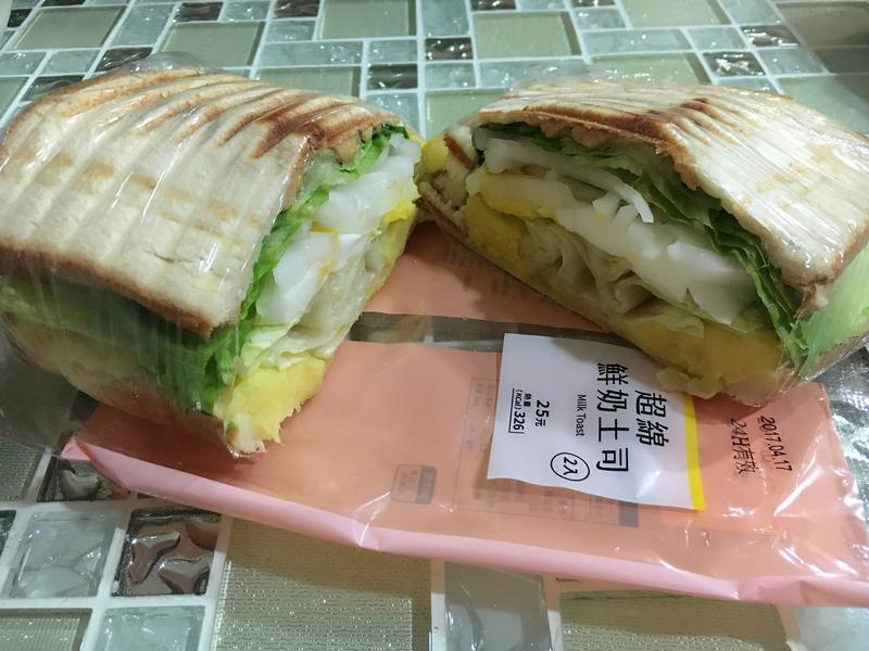 地瓜起司三明治