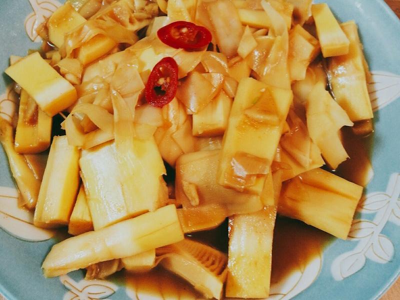 辣炒桂竹筍