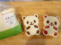 熊貓果醬吐司