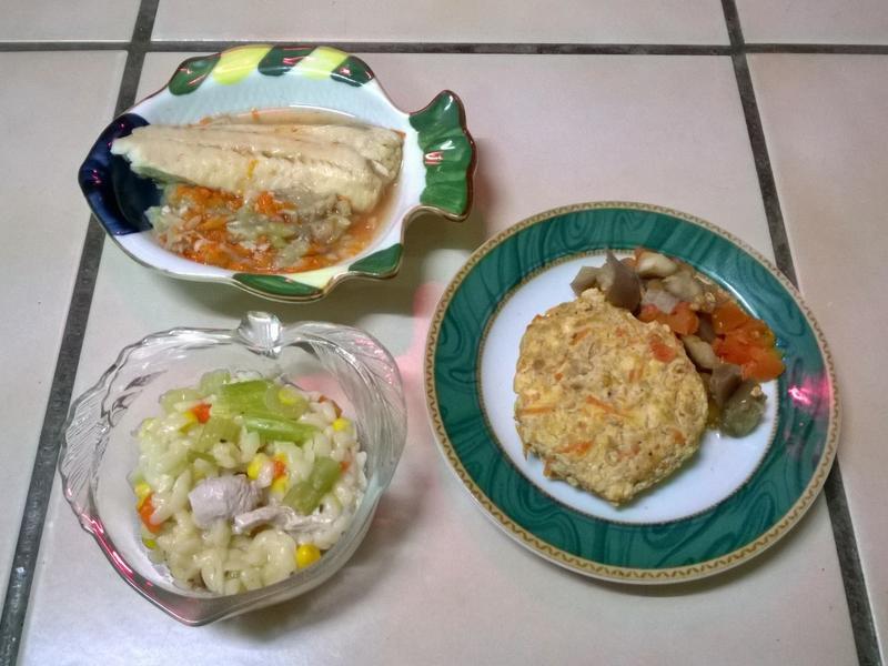 鮮食🐾絲瓜鯛魚 蔬菜雞肉米型麵 漢堡排