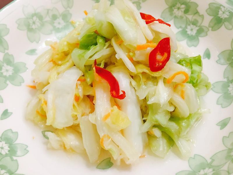 💯獨家《台式泡菜》簡單料理好吃😋