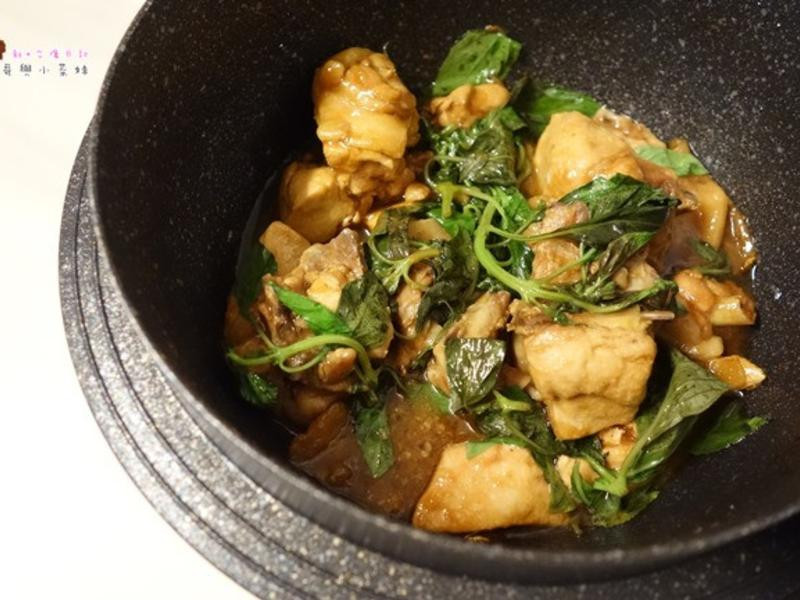 簡單美味三杯雞,油油亮亮好下飯